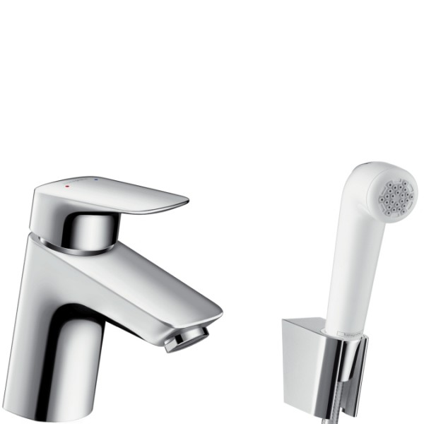 Extremely Hansgrohe Logis - Single lever basin mixer with hand shower bidet WD08