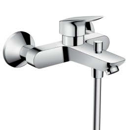 Hansgrohe Logis Single lever bath mixer for exposed installation