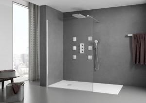 Superslim STONEX® shower tray