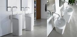 Lavabos columna de diseño para el baño, Comprar lavabo de columna, columna lavabo e lavabos columna de roca, duravit, gala... y mas