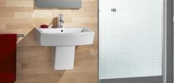 Lavabo semipedestal de diseño para el baño, Comprar lavabo semipedestal, semipedestal lavabo e lavabos semipedestal roca, duravit, gala... y mas