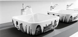 Lavabo de sobre encimera de diseño para el baño, Comprar lavabo de encimera, lavabo de sobre encimera e lavabo de sobre encimera de roca, duravit, gala... y mas