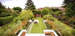 Professional garden