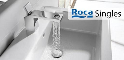 Roca singles -  proporcionan una amplia gama de piezas singulares que incluyen la última tecnología en ahorro de agua, un diseño de última tendencia y características pensadas para proporcionar el mayor confort