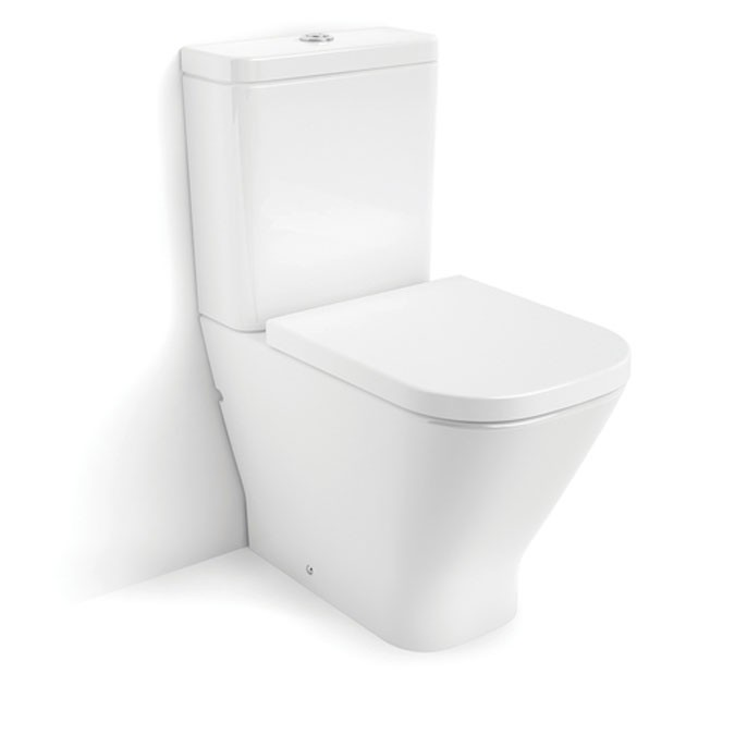 Roca The Gap Compact Back To Wall Close Coupled Wc